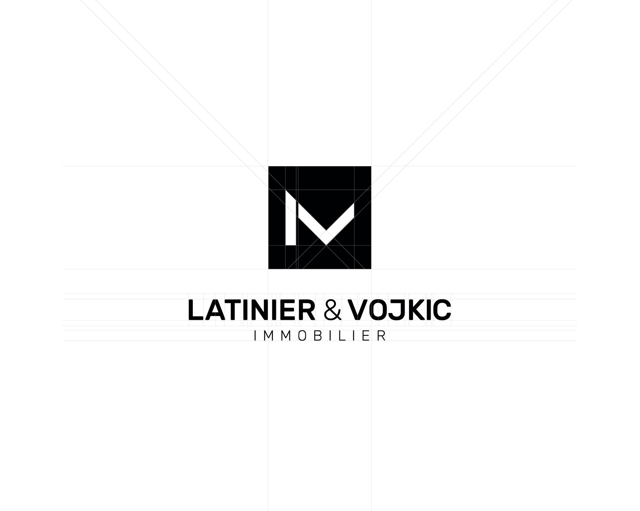 Construction logo Latinier & Vojkic Immobilier
